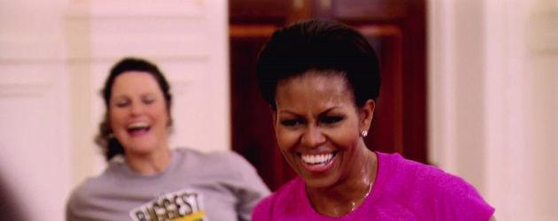 Michelle Obama ćwiczy