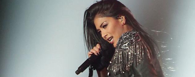Nicole Scherzinger bei einem Auftritt in Manchester