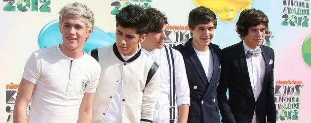 One Direction bei den Kids' Choice Awards