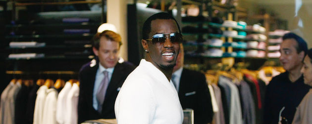 P. Diddy shoppt in Cannes