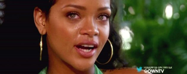 Rihanna weint