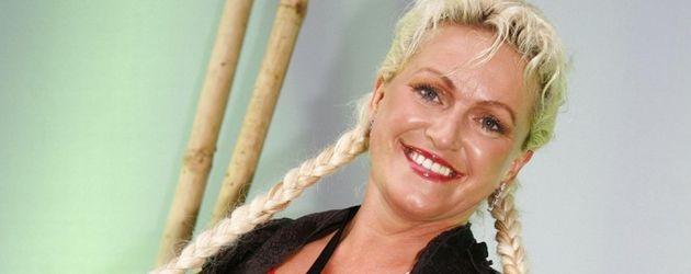 Sabrina Lange aus Big Brother mit Zöpfen