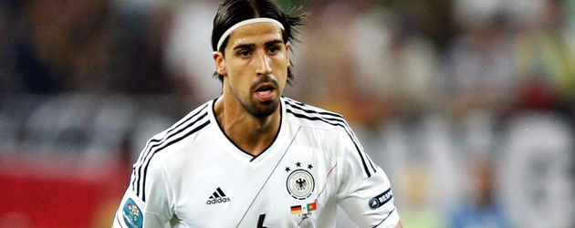 Sami Khedira am Ball