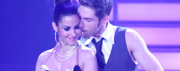 Sila Sahin und ihr Tanzpartner Christian bei der 1. Show