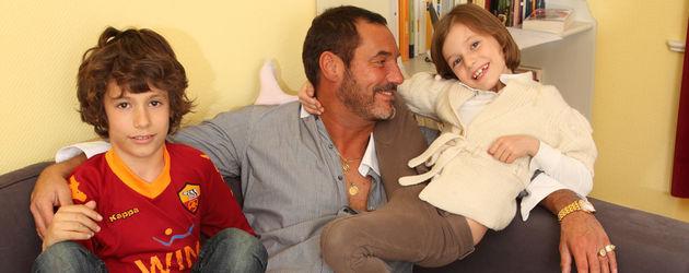 Silvan-Pierre Leirich und seine Kinder