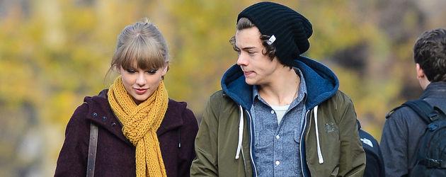 Taylor Swift und Harry Styles beim Bummeln