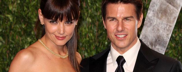 Tom Cruise und Katie Holmes bei den Oscars