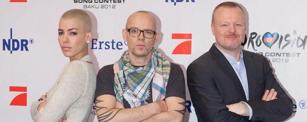 Unser Star für Baku: Stefan Raab, Thomas D und Alina Süggeler