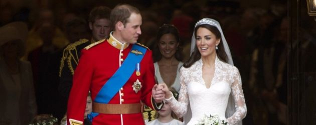 William & Kate als Brautpaar
