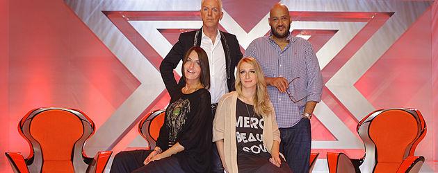 X Factor-Jury 2012