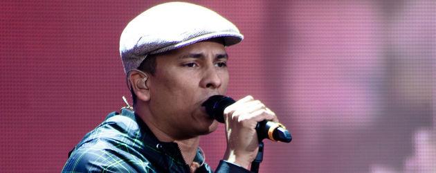 Xavier Naidoo mit Mütze