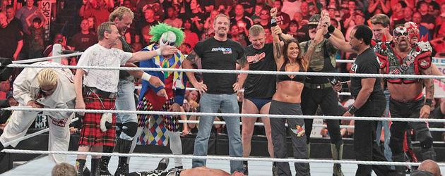 Zahlreiche WWE-Legends