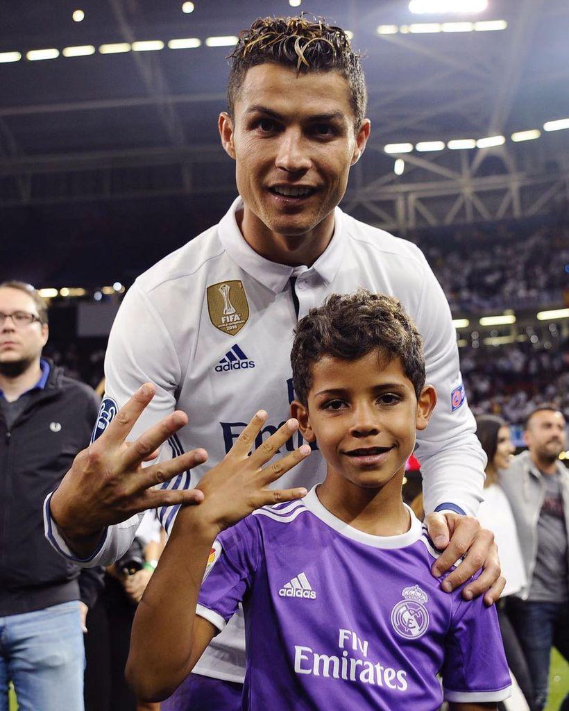 Cristiano Ronaldo Kinderfotos