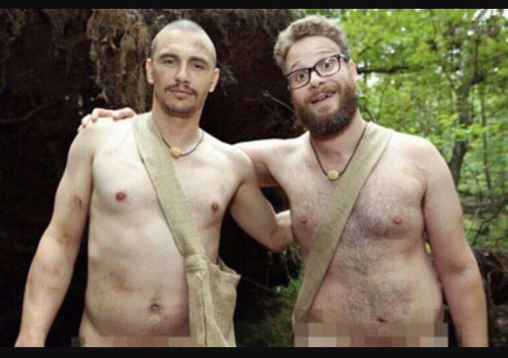 Nackter Protest: James Franco & Seth Rogen verspotten Trump ...