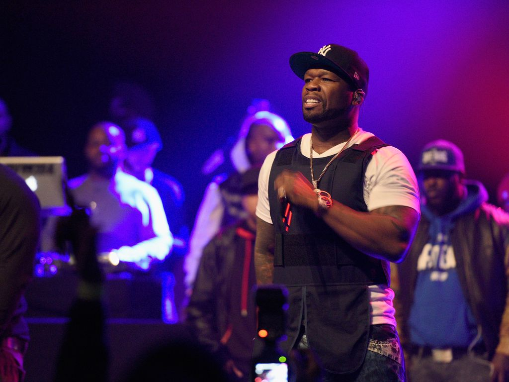 "50 Cent bei der ""Breakfast Club""-Party in New York"