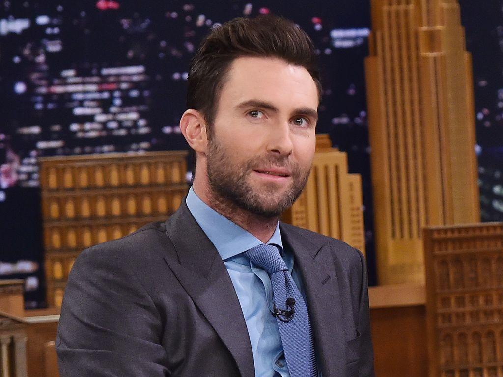 "Adam Levine bei ""The Tonight Show Starring Jimmy Fallon"""
