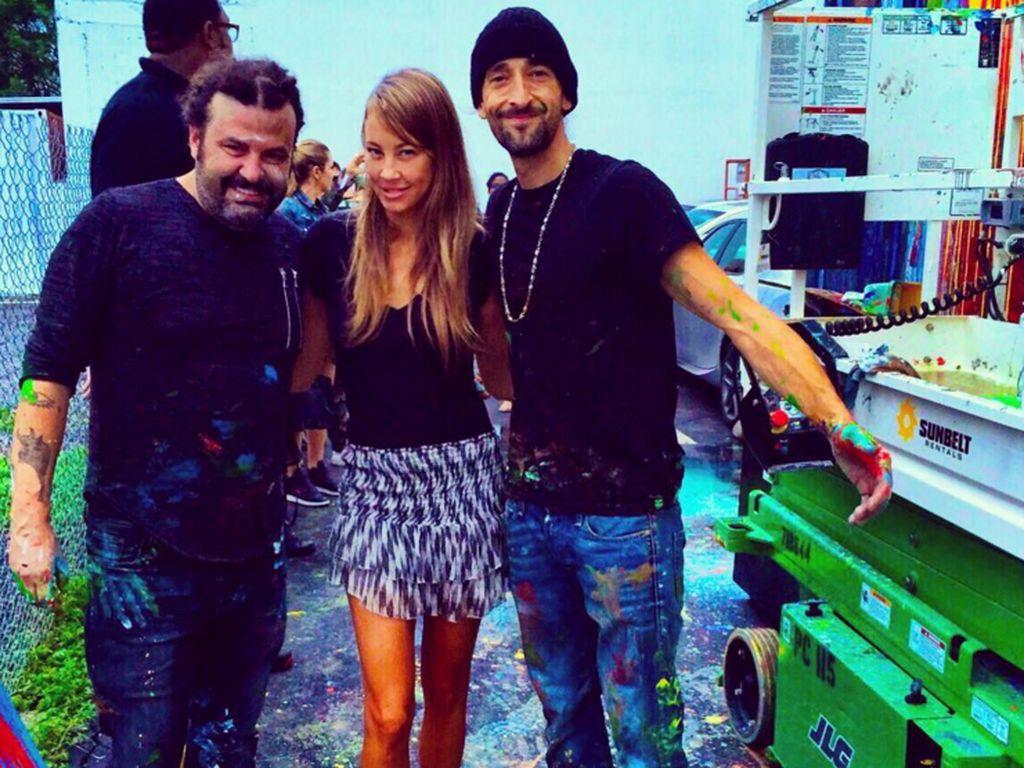 Alessandra Pocher und Adrien Brody