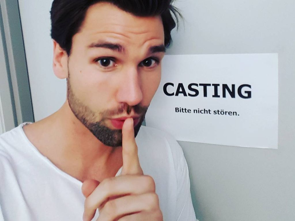 Alexander Keen beim Casting