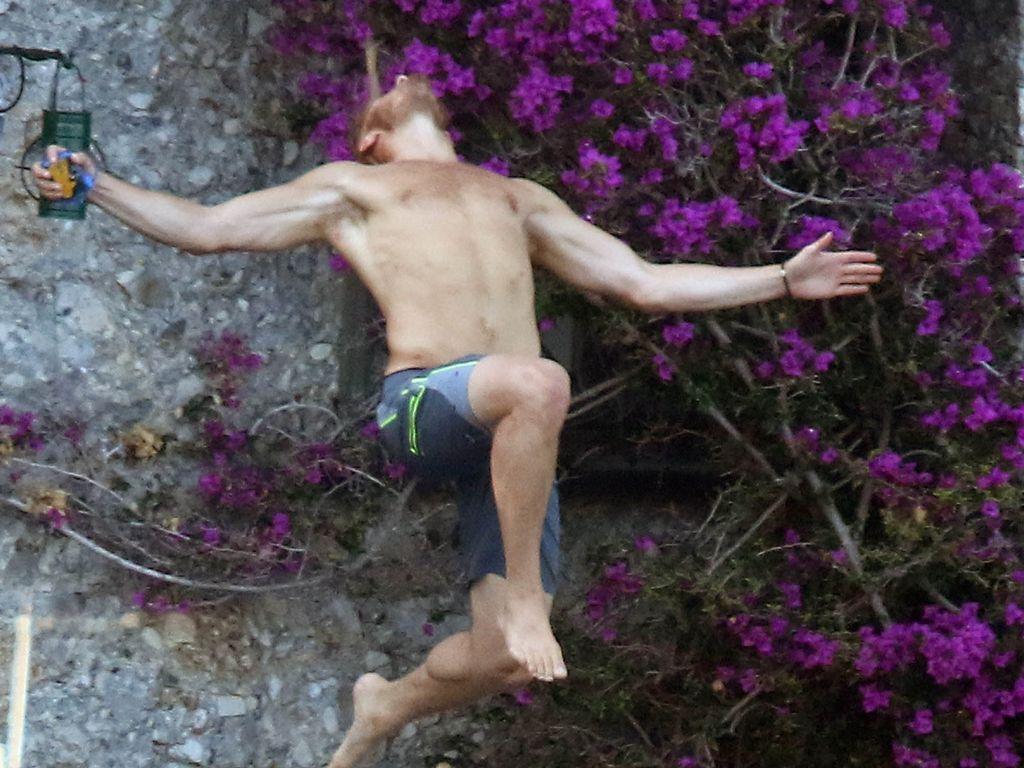 Alexander Ludwig im Urlaub im italienischen Portofino