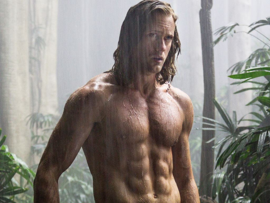 """Alexander Skarsgard in einer Szene von """"The Legend of Tarzan"""""""