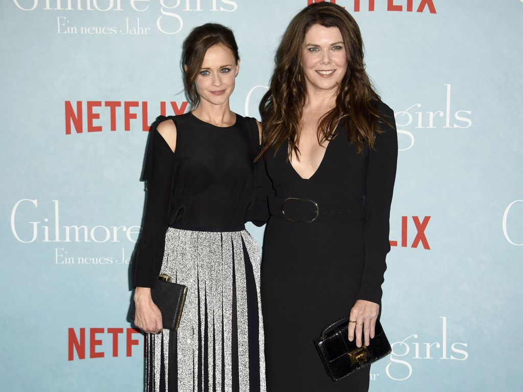 Alexis Bledel und Lauren Graham in Berlin
