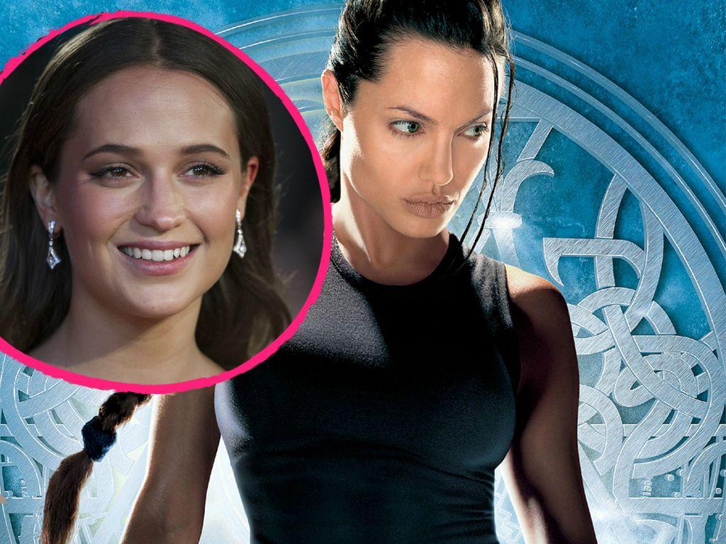 Angelina Jolie und Alicia Vikander