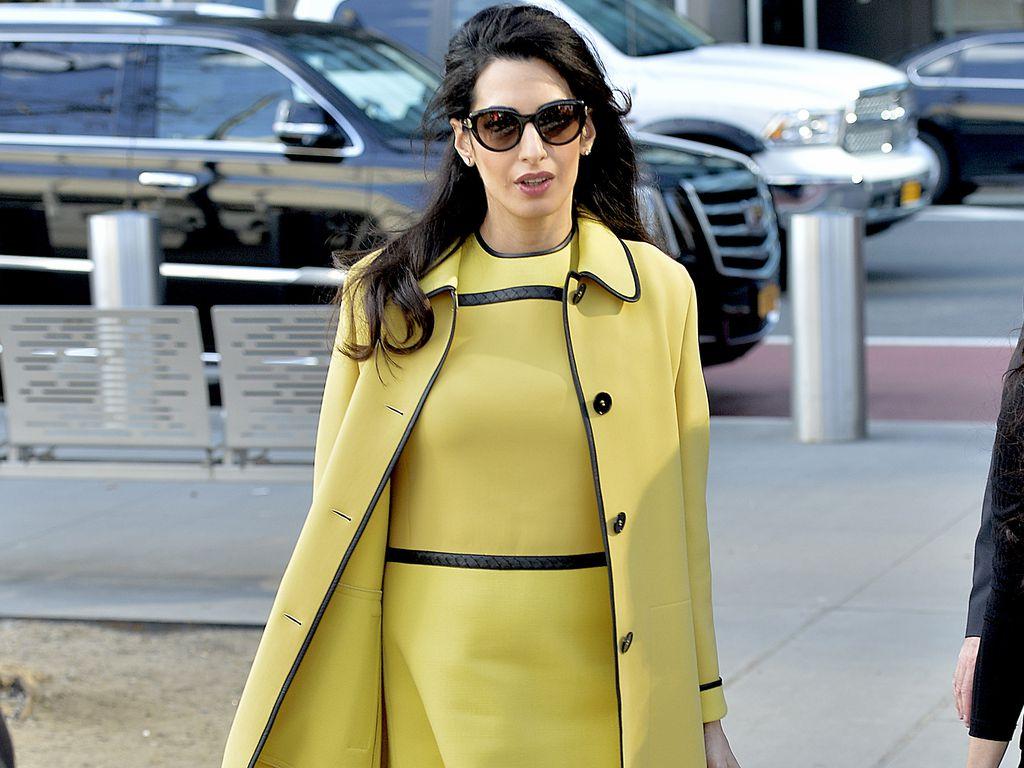 Amal Clooney auf dem Weg zur UN