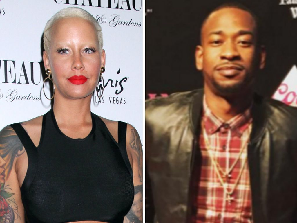 Amber Rose und Terrence Ross