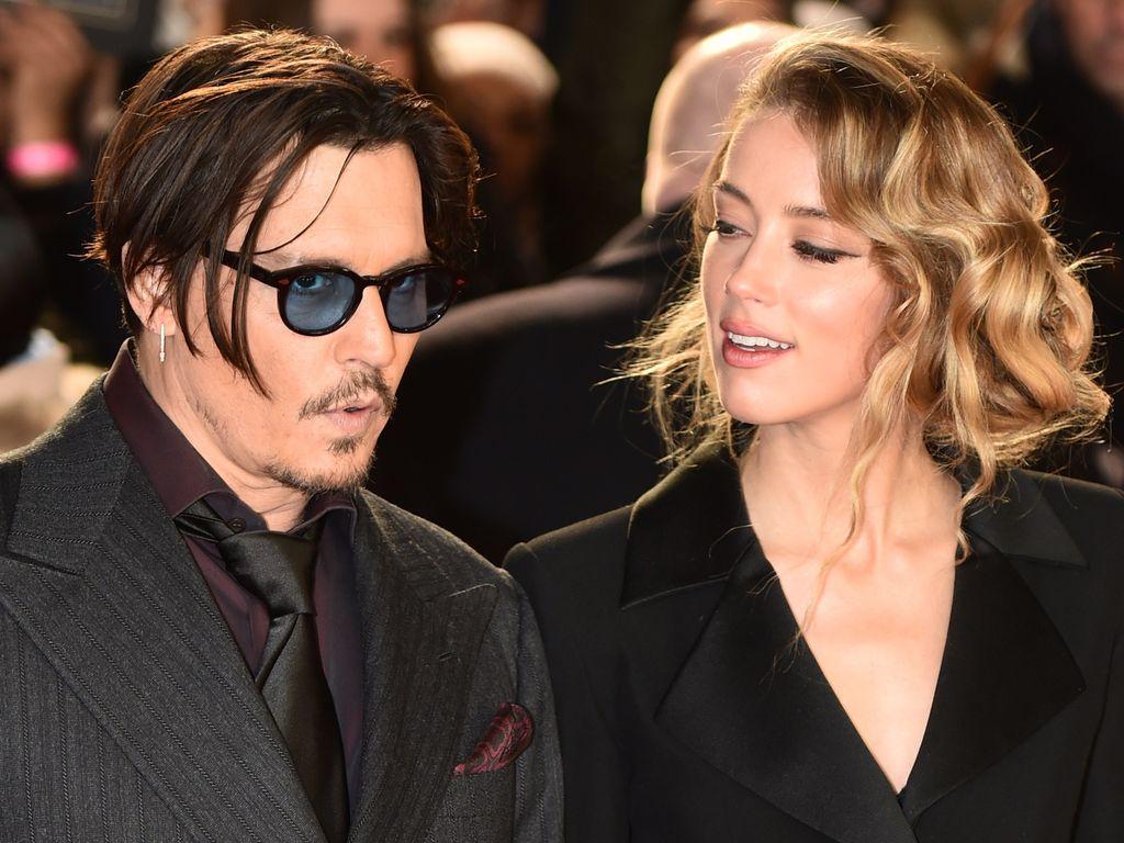 Amber Heard und Johnny Depp