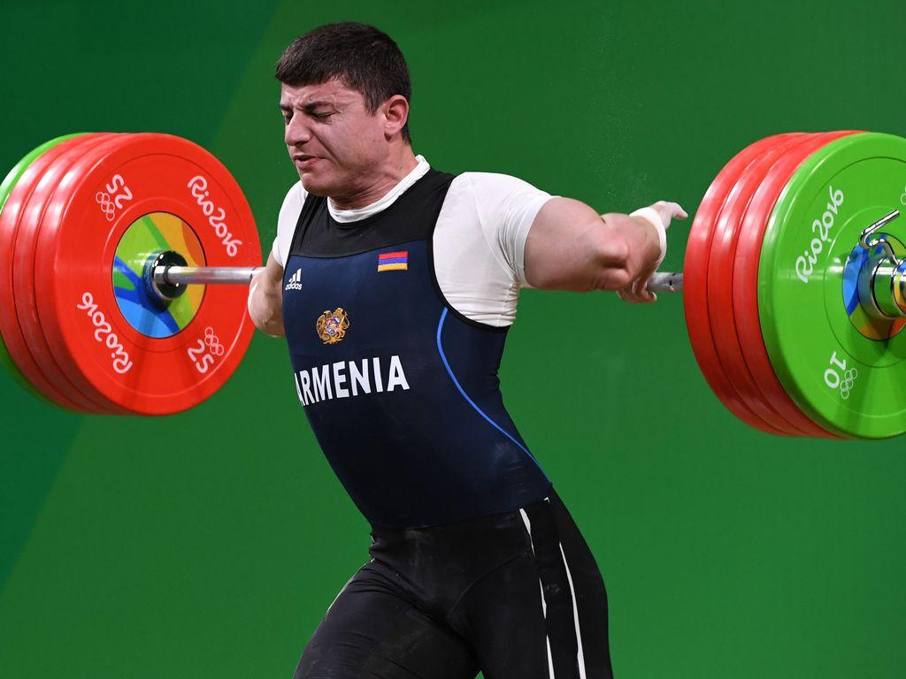 Andranik Karapetyan mit Horror-Verletzung beim Gewichtheben