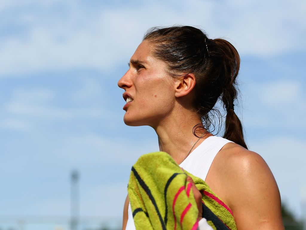 "Andrea Petkovic  bei ""The Championships - Wimbledon 2015"" in London"