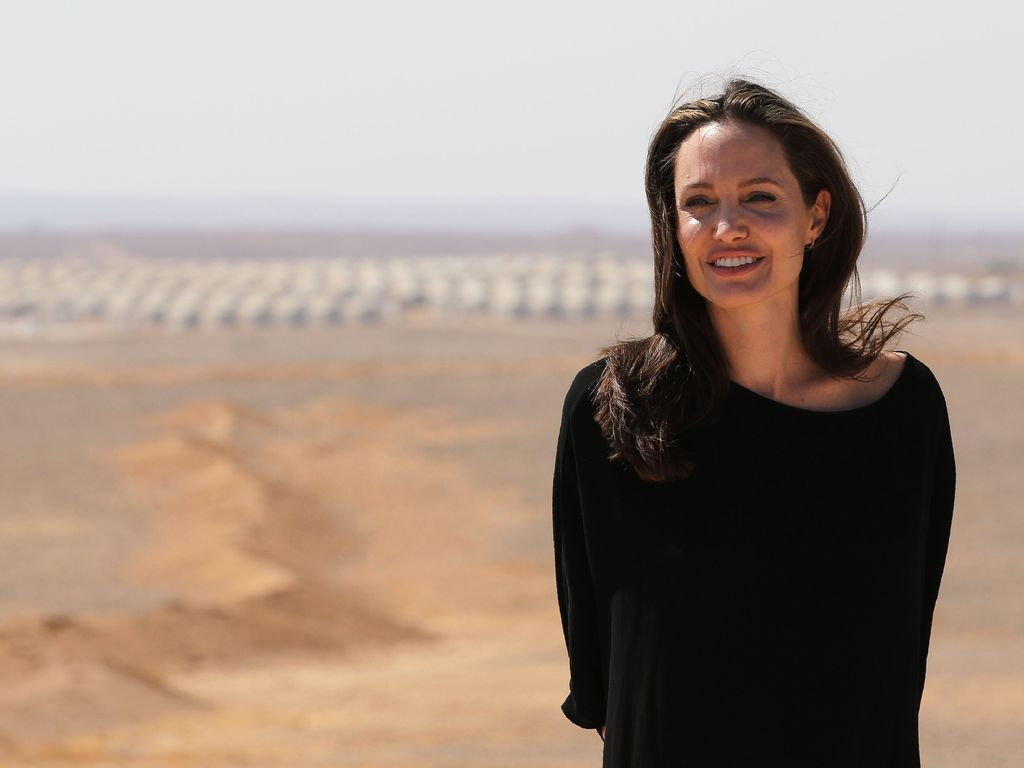 Angelina Jolie in Jordanien 2016