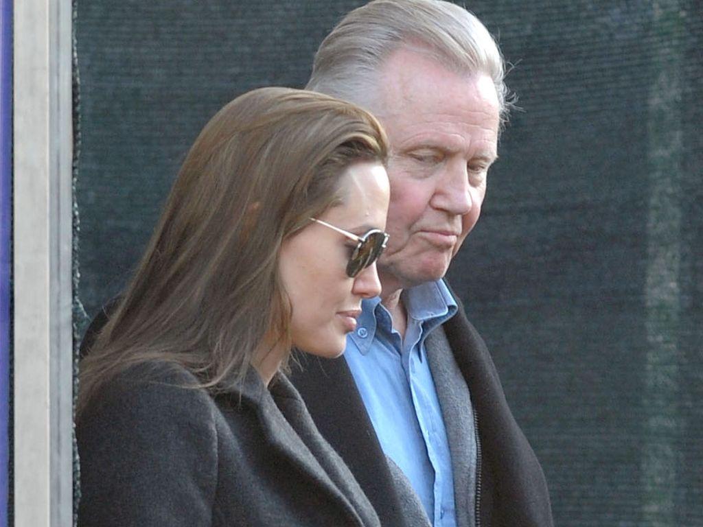 Angelina Jolie und ihr Vater Jon Voight