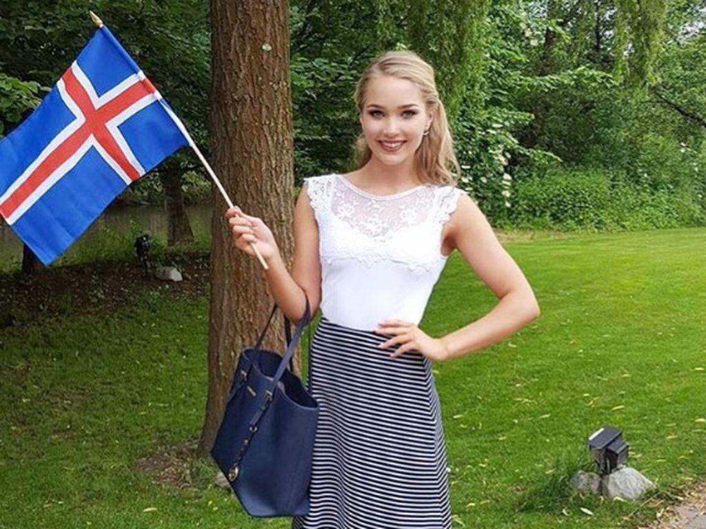 Arna Yr Jonsdottir, Miss EM 2016