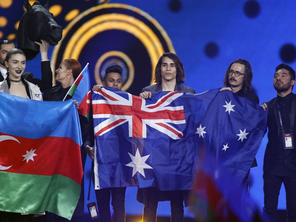 warum ist australien beim eurovision song contest dabei