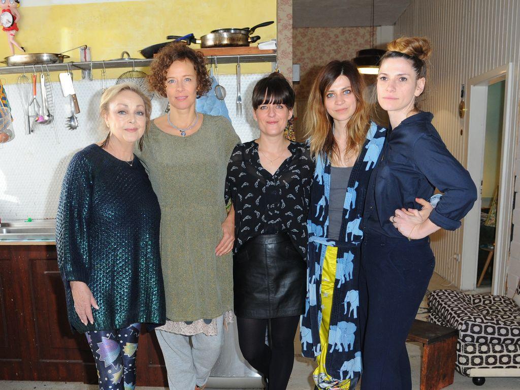Sarah Kuttner, Claudia Eisinger, Barbara Schöne und Katja Riemann