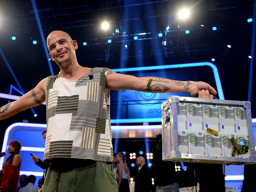 Ben Tewaag nach seinem Gewinn bei Promi Big Brother 2016
