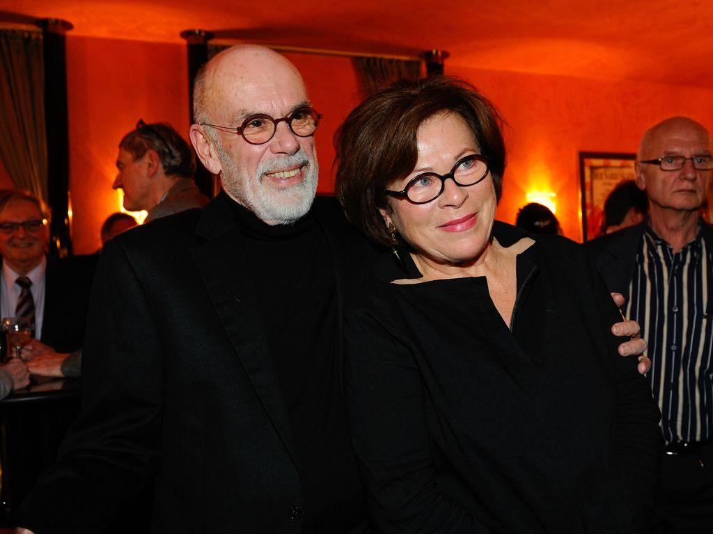 Bernd Fischerauer und Rita Russek bei einer Theaterpremiere in München