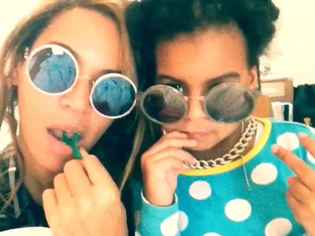 Beyonce und Blue Ivy Carter