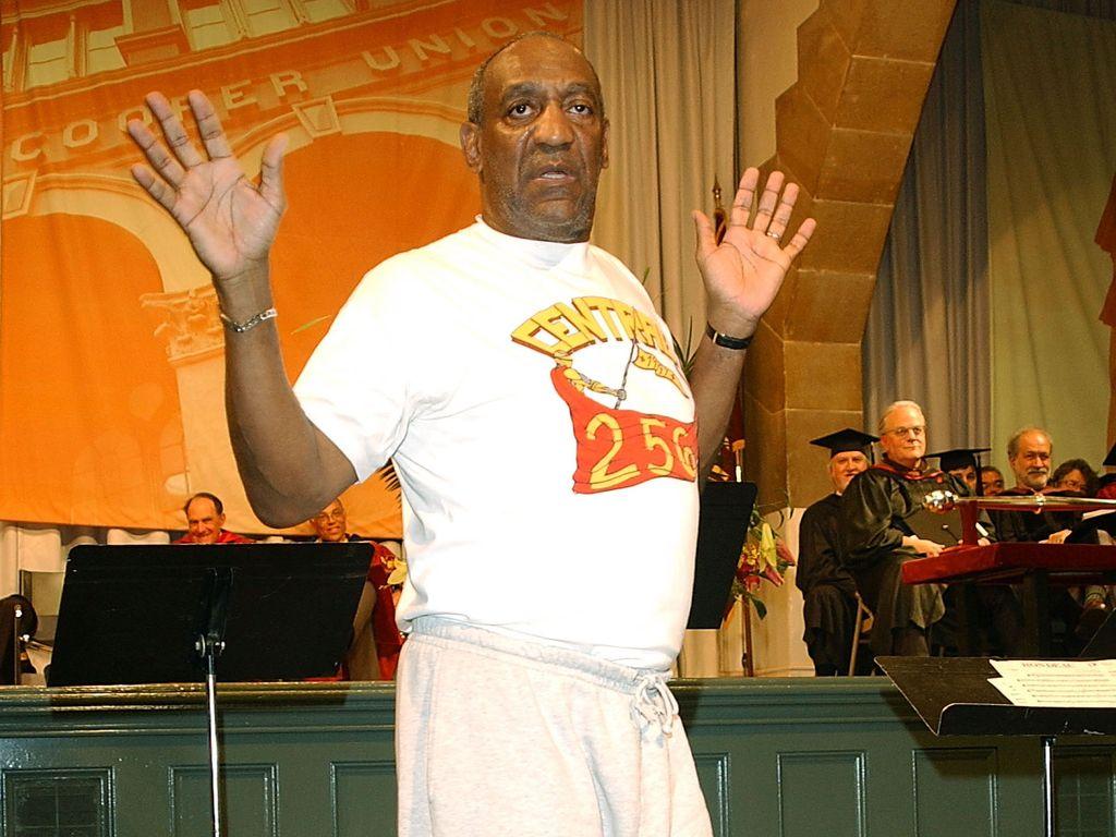 Bill Cosby erhält 2002 in New York einen Ehrendoktor-Titel