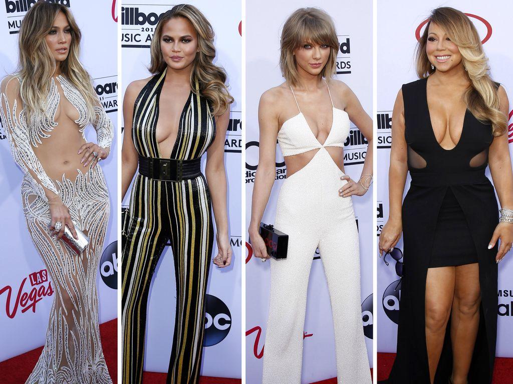 Taylor Swift, Chrissy Teigen, Jennifer Lopez und Mariah Carey