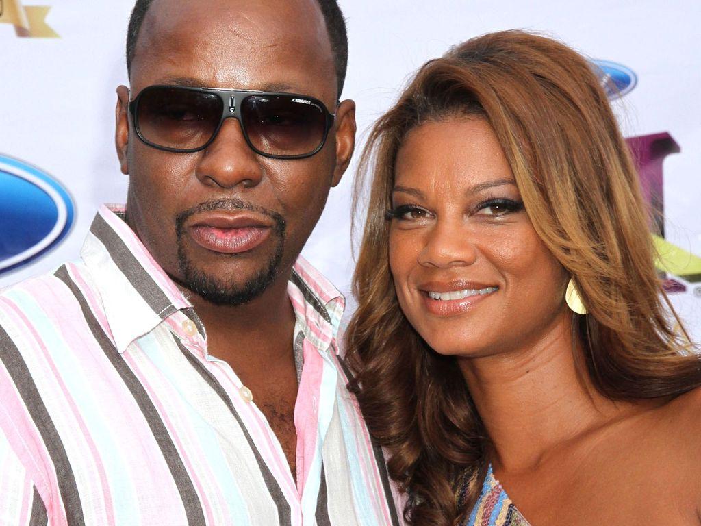 Bobby Brown und seine Frau Alicia