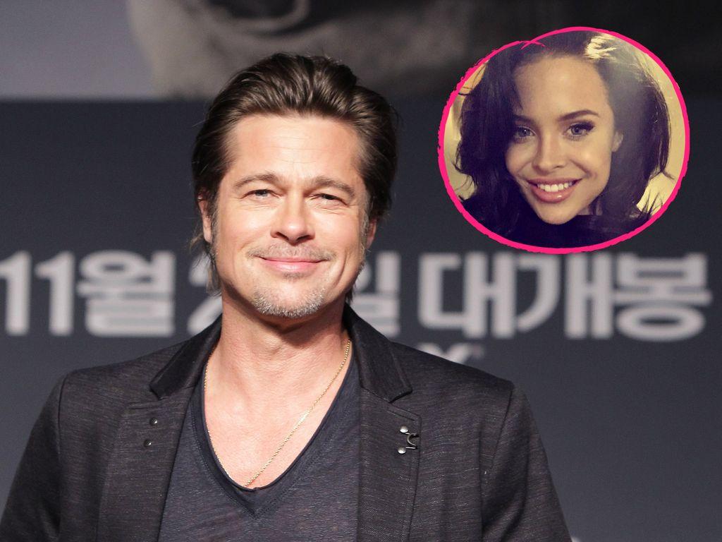 Brad Pitt und Mara Teigen