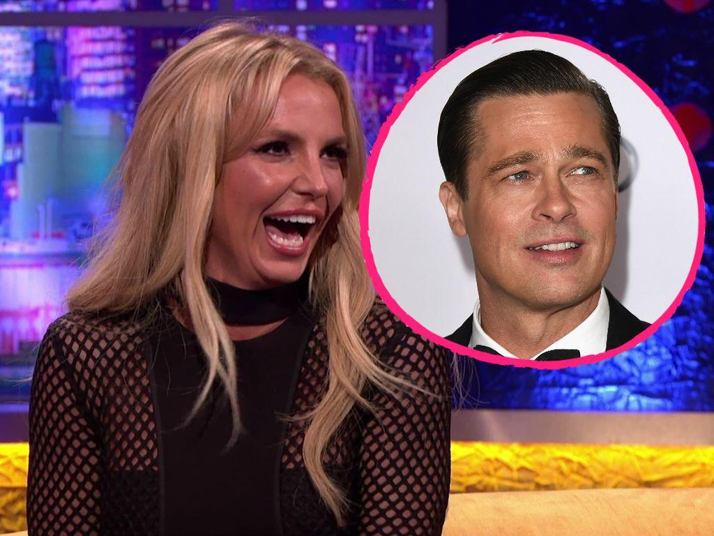 Britney Spears und Brad Pitt