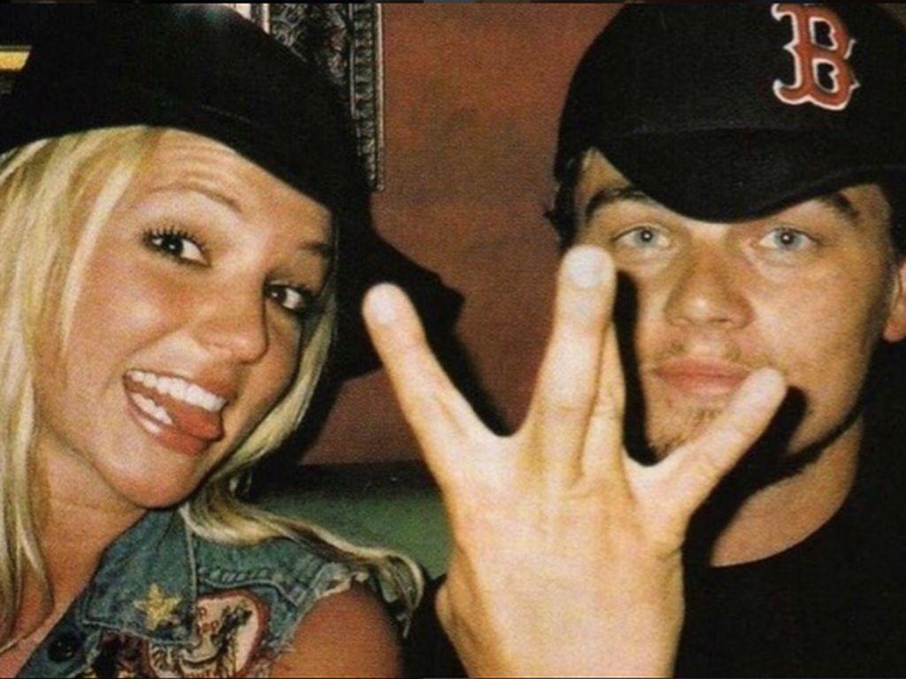Leonardo DiCaprio und Britney Spears