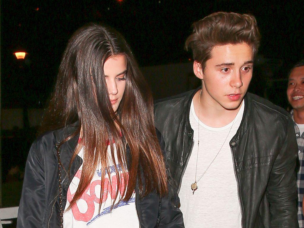 Brooklyn Beckham und Sonia Ben Ammar