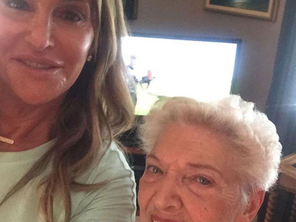 Caitlyn Jenner mit ihrer Mutter