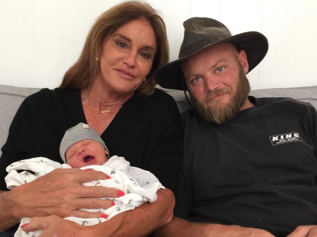 Caitlyn Jenner mit Enkelsohn Bodhi und Sohn Burt