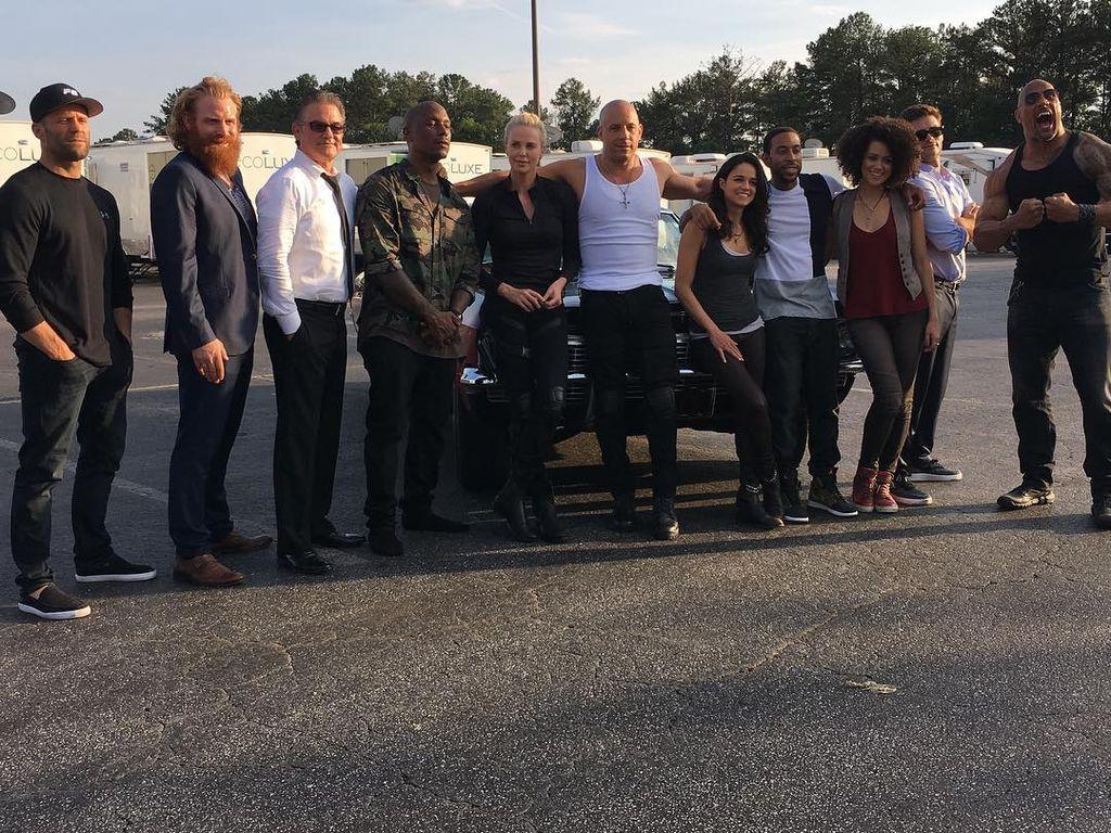 """Der Cast von """"Fast & Furious 8"""""""