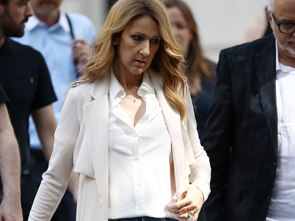Céline Dion in Paris